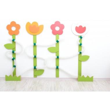 """Manipuliacinė lenta """"Gėlės"""""""