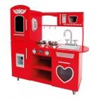 Raudona RETRO stiliaus virtuvėlė 83729