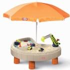 Stalas su skėčiu smėliadėže ir žaislais 401N