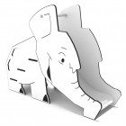 Čiuožykla dramblys 0821