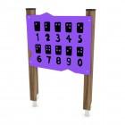 Manipuliacinė žaidimų sienelė Brailio raštas WD1563