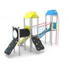 Kompleksinės aikštelės vaikams Steel