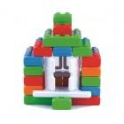 """Statybinės kaladėlės """"Plytos Junior"""" 40 el. MI12301"""