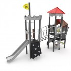 Kompleksinė vaikų žaidimų aikštelė su tilteliu 3004