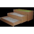 Trijų aukštų vaikiška lovytė