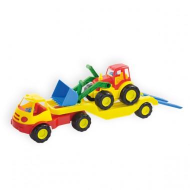 Mašina ir traktorius 10001