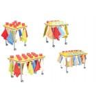 Puodelių staliukas - rankšluostinė 100371