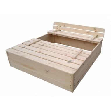 Smėlio dėžė uždaroma
