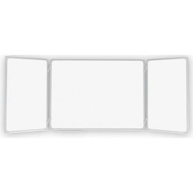 Balta markerinė magnetinė lenta 340x100 cm