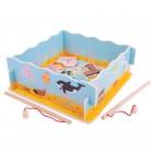 Magnetinis žvejybos žaidimas dėžutėje