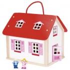 Lėlių namas - lagaminas
