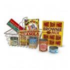 Pirkinių krepšys su produktais