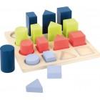 Formų ir spalvų rušiavimo žaidimas 111100