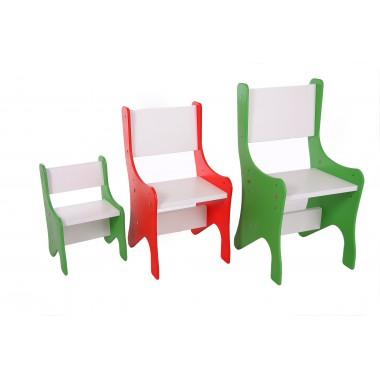 Reguliuojamos spalvotos kėdutės