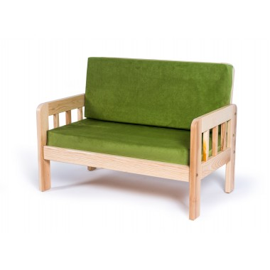 Dvivietė vaikiška sofa