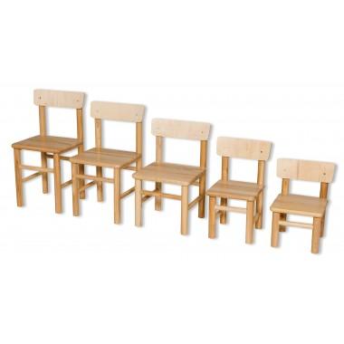 Medinė kėdutė ERGO CLASS